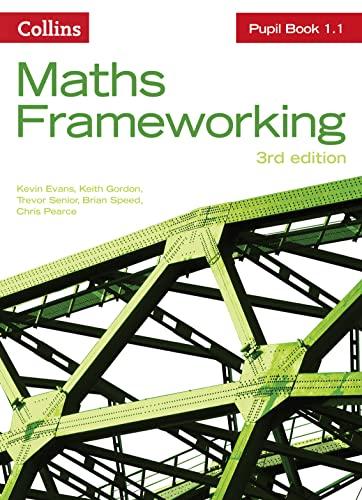 9780007537716: KS3 Maths Pupil Book 1.1 (Maths Frameworking)