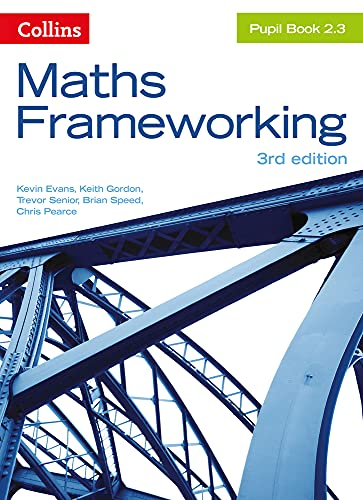9780007537761: KS3 Maths Pupil Book 2.3 (Maths Frameworking)