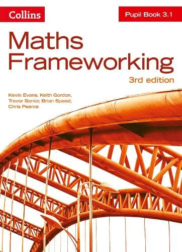 9780007537778: Maths Frameworking - Pupil Book 3.1