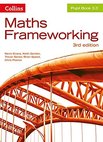 9780007537792: KS3 Maths Pupil Book 3.3 (Maths Frameworking)