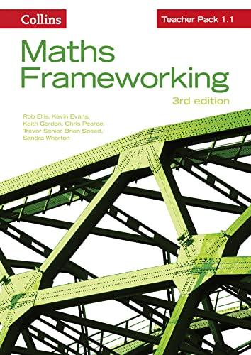 9780007537815: Teacher Pack 1.1 (Maths Frameworking)