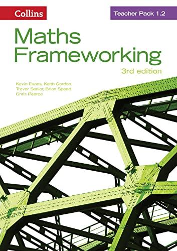 9780007537822: Teacher Pack 1.2 (Maths Frameworking)