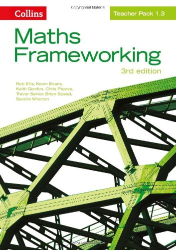 9780007537839: Maths Frameworking - Teacher Pack 1.3
