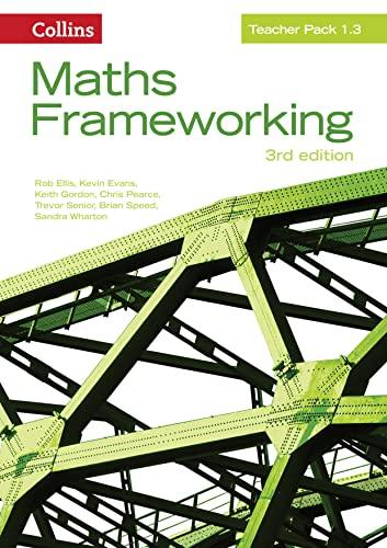 9780007537839: Teacher Pack 1.3 (Maths Frameworking)