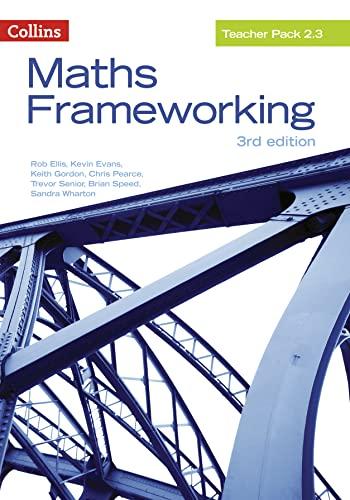 9780007537860: Maths Frameworking ? Teacher Pack 2.3 [Third Edition]