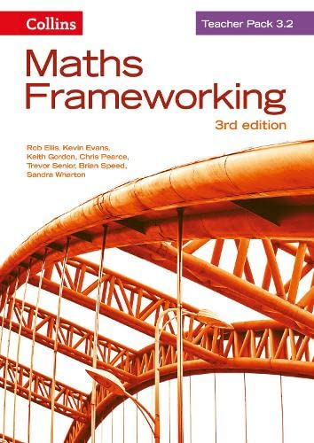 9780007537884: Maths Frameworking - Teacher Pack 3.2