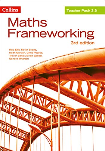 9780007537891: KS3 Maths Teacher Pack 3.3 (Maths Frameworking)