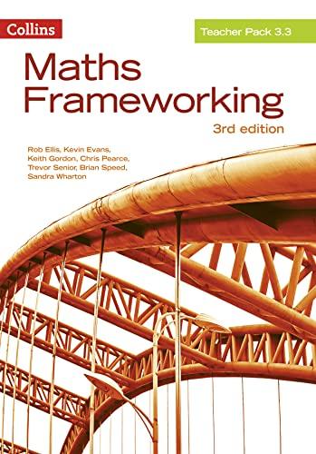 9780007537891: Maths Frameworking — Teacher Pack 3.3: Print [Third Edition]