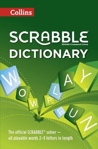 9780007537952: Collins Scrabble Dictionary