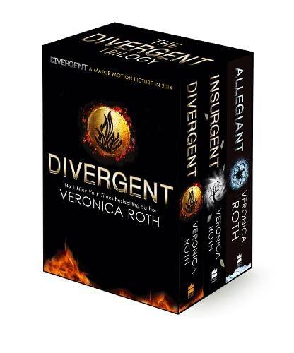 9780007538034: Divergent Trilogy Boxed Set Divergent; Insurgent; Allegiant