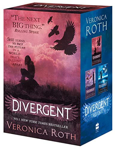 9780007538041: Divergent Series Boxed Set Divergent; Insurgent; Allegiant