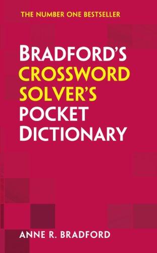 9780007538430: Collins Bradford�s Crossword Solver�s Pocket Dictionary