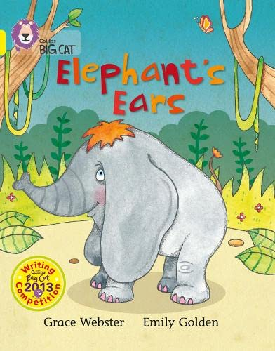 9780007538492: Collins Big Cat - Elephant's Ears: Band 03/Yellow