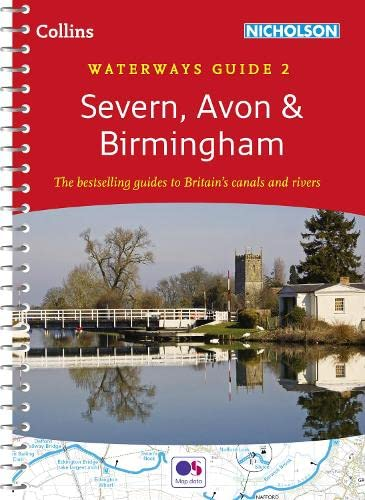 9780007538980: Severn, Avon & Birmingham (Collins Nicholson Waterways Guides)