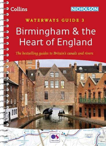 9780007538997: Birmingham & the Heart of England No. 3 (Collins Nicholson Waterways Guides)