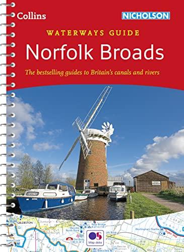 9780007539000: Norfolk Broads (Collins Nicholson Waterways Guides)