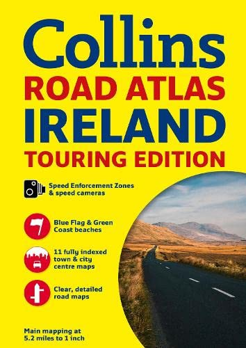 9780007541294: Ireland Road Atlas (International Road Atlases)