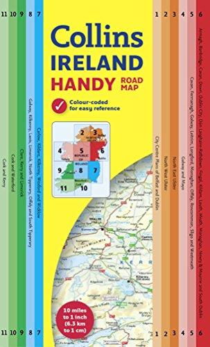9780007541300: Handy Map of Ireland (Collins Handy Road Map)