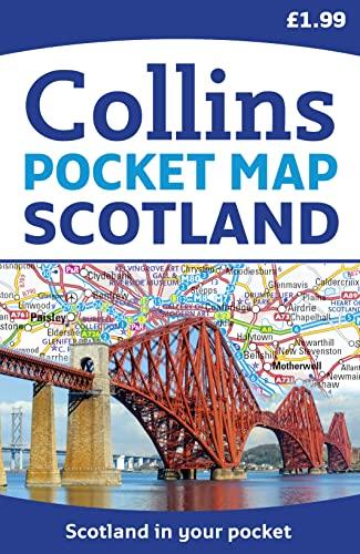 9780007541317: Scotland Pocket Map