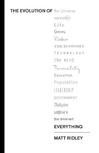 9780007542499: The Evolution of Everything: How Ideas Emerge