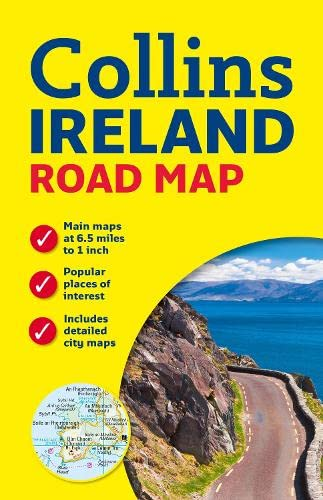 9780007543984: Collins Ireland Road Map