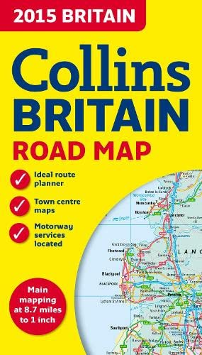 9780007544011: 2015 Collins Britain Road Map