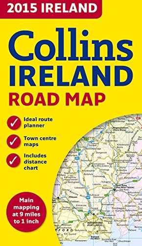 9780007544028: 2015 Collins Ireland Road Map
