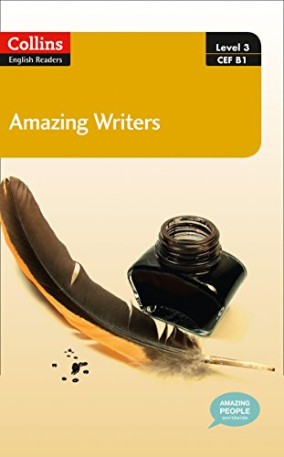 9780007544981: Amazing Writers : B1 (Collins Amazing People ELT Readers)