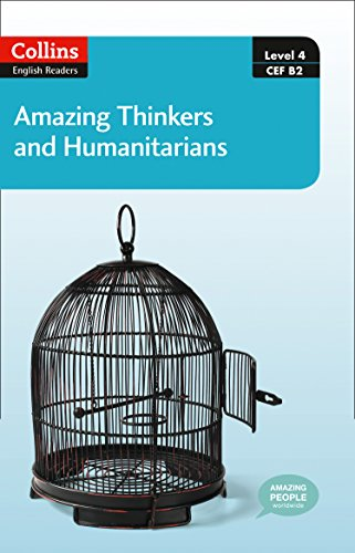 9780007544998: Collins Elt Readers — Amazing Thinkers & Humanitarians (Level 4) (Collins English Readers)