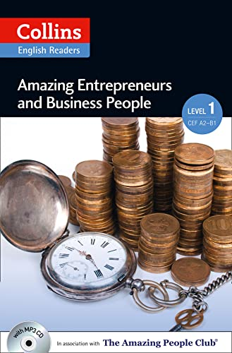 9780007545018: Amazing Entrepreneurs & Business People: A2 (Collins Amazing People ELT Readers)
