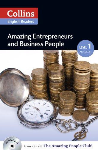 9780007545018: Collins Elt Readers — Amazing Entrepreneurs & Business People (Level 1) (Collins ELT Readers. Level 1)