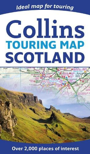 9780007545414: Collins Touring Map Scotland 2014