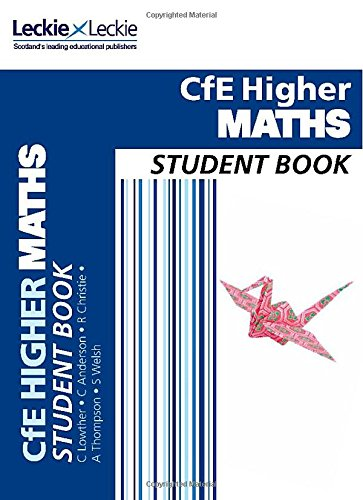 9780007549269: Cfe Higher Maths Student Book