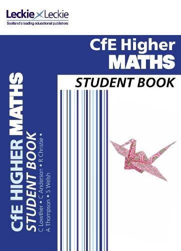 9780007549269: Student Book - CfE Higher Maths Student Book