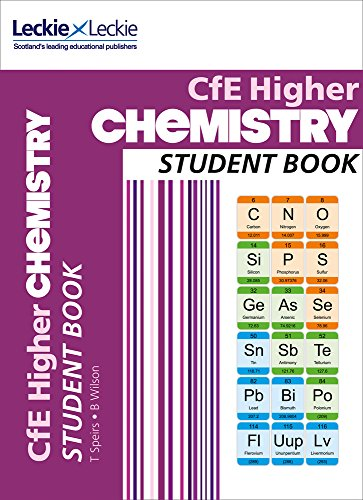 9780007549290: Student Book - CfE Higher Chemistry Student Book