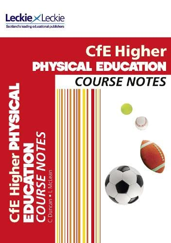 9780007549313: CFE Higher Physical Education Course Notes