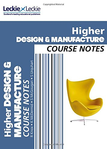 9780007549320: Course Notes - CfE Higher Design and Manufacture Course Notes