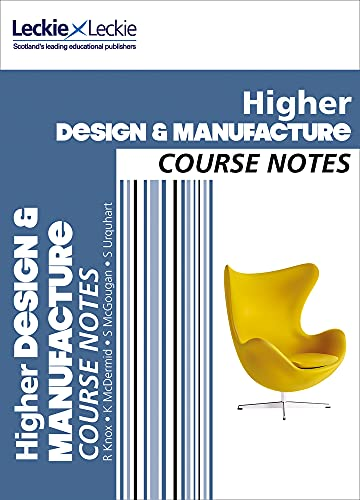 9780007549320: Course Notes ? CFE Higher Design and Manufacture Course Notes