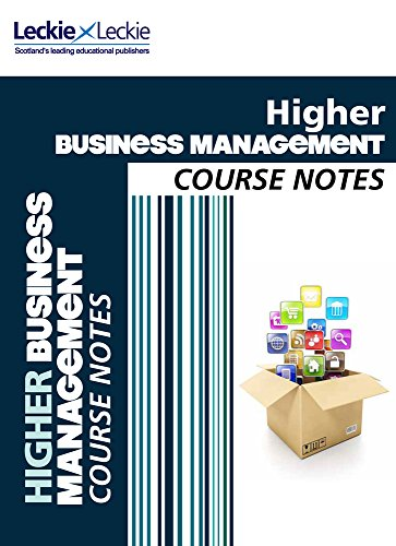 9780007549351: Course Notes - CfE Higher Business Management Course Notes