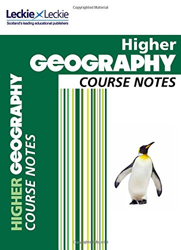 9780007549368: CfE Higher Geography Course Notes (Course Notes)
