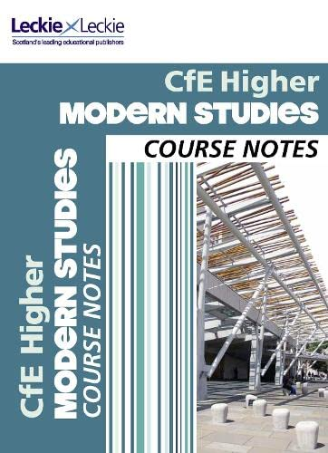 9780007549375: CfE Higher Modern Studies Course Notes