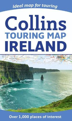 9780007549689: Ireland Touring Map 1:475K Collins