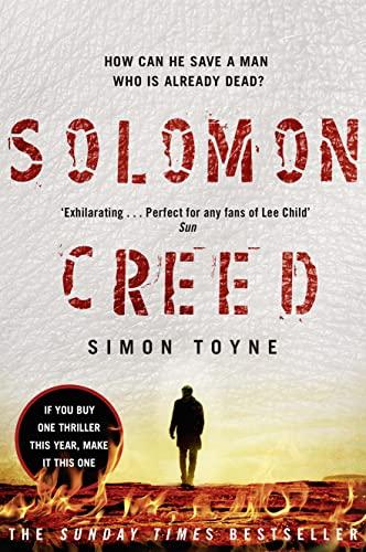 9780007551385: Solomon Creed