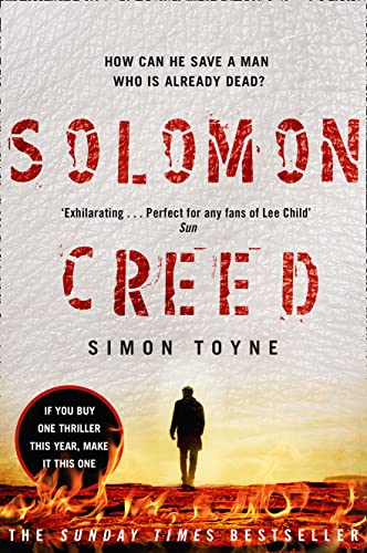 9780007551385: Solomon Creed: The Only Thriller You Need to Read This Year