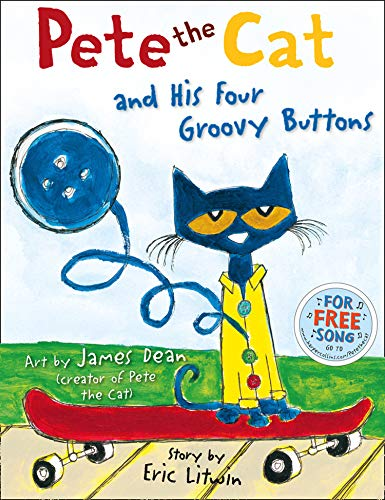 9780007553679: Pete the Cat and his Four Groovy Buttons
