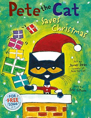 9780007553693: Pete the Cat Saves Christmas