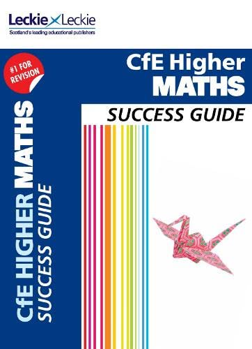 9780007554362: CfE Higher Maths Success Guide (Success Guide)