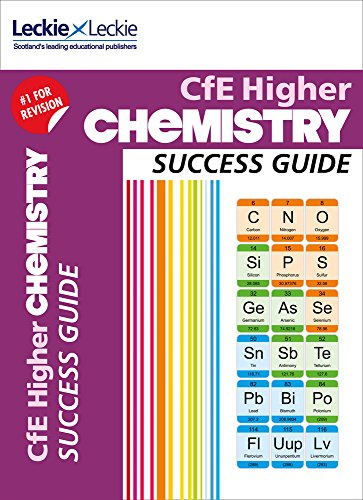 9780007554393: Success Guide - CfE Higher Chemistry Success Guide