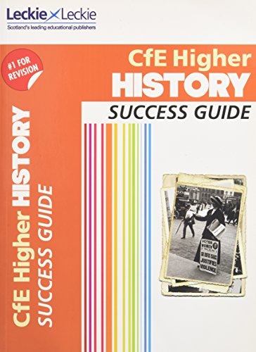 9780007554423: Cfe Higher History Success Guide