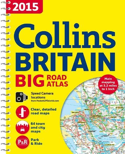 9780007555086: 2015 Collins Big Road Atlas Britain